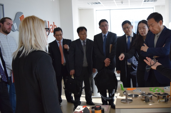 Chinese delegation visits  ProDe Laboratory