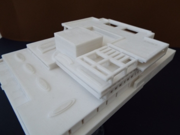 Polytechnics' students defended Diploma Thesis with 3D printed scale models