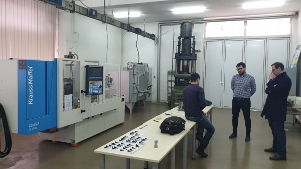 "VISIT TO  3D LABORATORY AT THE FACULTY OF MECHANICAL ENGINEERING  ""SS. CYRIL AND METHODIUS UNIVERSITY"""