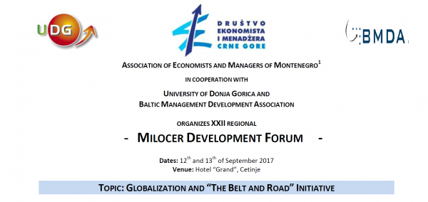 "The Topic of Milocher Development forum GLOBALIZATION AND ""THE BELT AND ROAD"" INITIATIVE'' tackles experience of UDG students of Design"