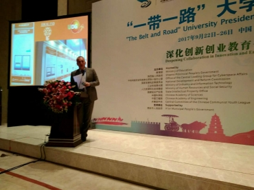 Rector of UDG, professor Veselin Vukotic on international conference in China on education, innovation and entrepreneurship